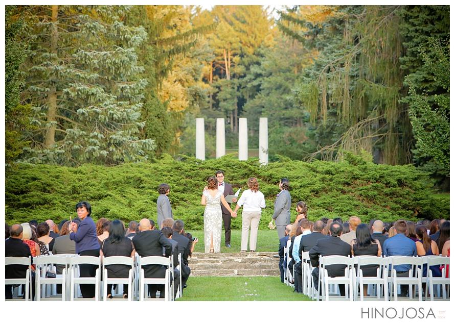 Pati Mary Q Wedding Ceremony At Morton Arboretum